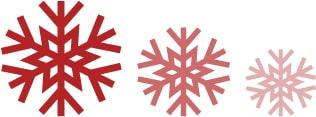 Tenn-Icons-Schneeflocken